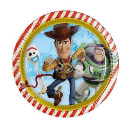 Toy Story borden 8 stuks 23cm
