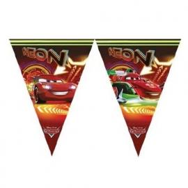 Cars vlaggenlijn neon