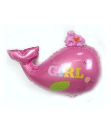 Folie ballon geboorte meisje dolfijn