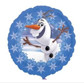 Olaf Frozen folie ballon 45cm
