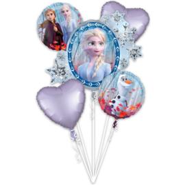 Frozen 2 folie ballonnen set 5 stuks