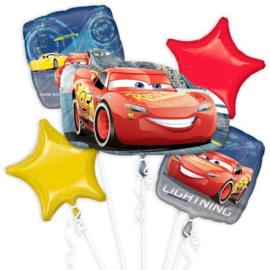 Cars folie ballonnen set 5 stuks