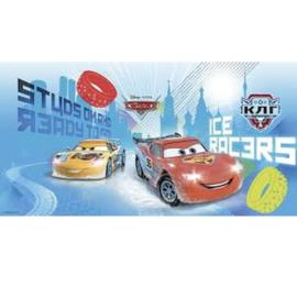 Cars versiering muur plastic 150x77cm