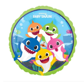 Baby Shark folie ballon 45cm
