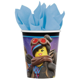 Lego Movie bekers 8 stuks 266ml