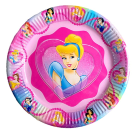 Prinsessen borden 10 stuks 23cm