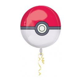 Pokemon folie ballon rondvormig 45cm