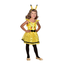 Pokemon verkleedjurk meisje 4-6 jaar