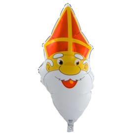 Sinterklaas folie ballon 47x90cm