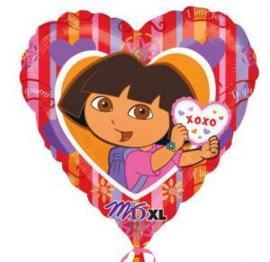 Dora folie ballon 70cm