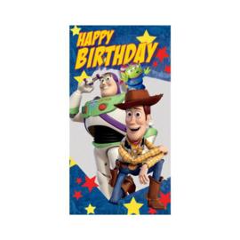 Toy Story verjaardagskaart