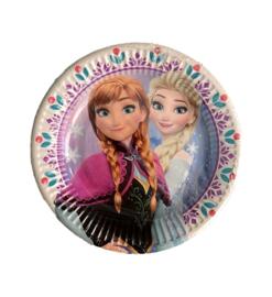 Borden Frozen Anna en Elsa verjaardag