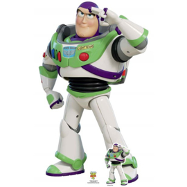 Toy Story Buzz deco met standaard 1,29m