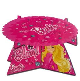 Barbie taart schaal 27,5x14,5cm