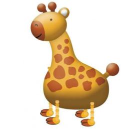 Giraffe walking ballon 109cm