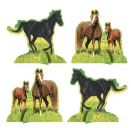 Paard versiering tafel set