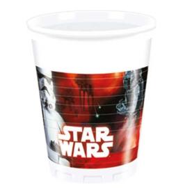 Star Wars bekertjes 8 stuks 200ml
