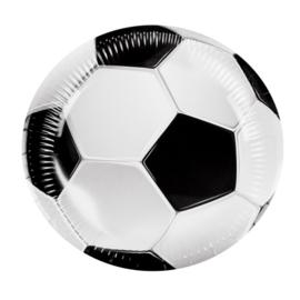 Voetbal borden 6 stuks 23cm