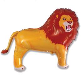 Leeuw folie ballon 80x83cm