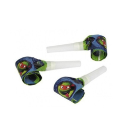 The Ninja Turtles roltongen 6 stuks