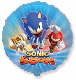 Sonic the hedgehog folie ballon 45cm