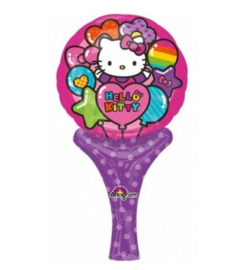 Hello Kitty folie ballon hand 30x15cm