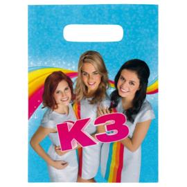 K3 uitdeelzakjes 8 stuks