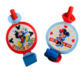 Mickey Minnie Mouse roltongen 4 stuks