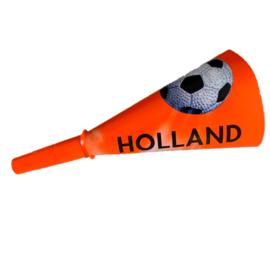 Oranje voetbal toeter