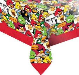 Angry Birds tafelkleed plastic 138cmx138cm
