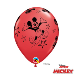 Mickey Mouse ballonnen 6 stuks 28cm