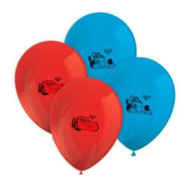Cars ballonnen 8 stuks 30cm