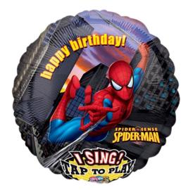 Spiderman muziek ballon 71cm
