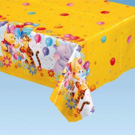 Winnie de Poeh tafelkleed plastic 120x180cm