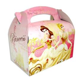 Prinsessen feestbox karton 15x14cm