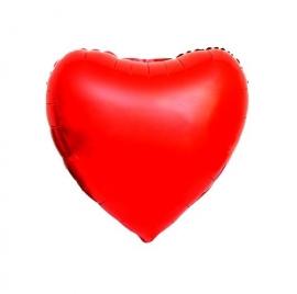 Folie ballon groot rood hart valentijnsdag