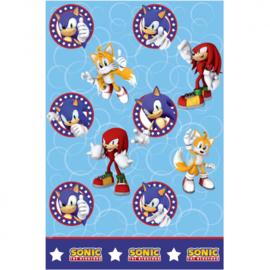 Sonic tafelkleed plastic 120x180cm