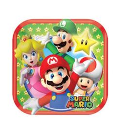 Super Mario borden 8 stuks