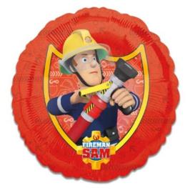 Brandweerman Sam folie ballon 43cm