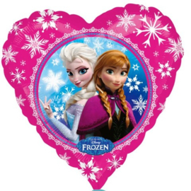 Frozen Anna Elsa folie ballon 45cm