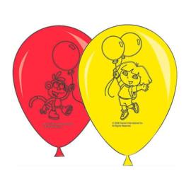 Dora ballonnen 8 stuks