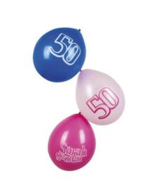 Ballonnen Sarah gezien 6 stuks