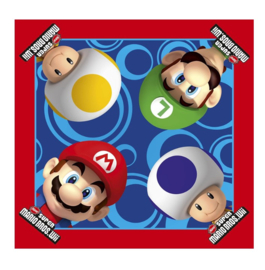 Super Mario servetten 16 stuks 33x33cm