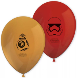 Star wars ballonnen 8 stuks