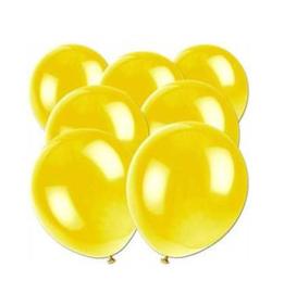 Ballonnen geel 10 stuks