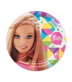 Barbie borden groot 8 stuks