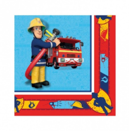 Brandweerman Sam servetten 20 stuks 33x33cm