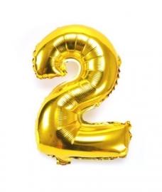 Folie ballon verjaardag 2 jaar