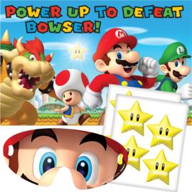 Super Mario spel feestje 2-8 spelers