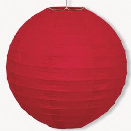 Lampion rood 25cm